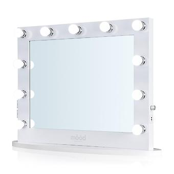 Hollywood Mirror 65 x 80cm Dressing Table or Wall Mounted