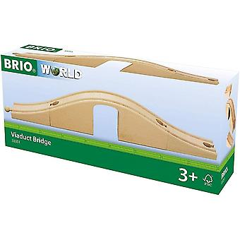 Brio 33351  Wooden Railway Viaduct Bridge