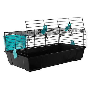 Voltrega Black Rabbit Cage 520 (Small pets , Cages and Parks)