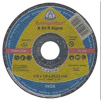 Klingspor A60R 115mm Metal Slitting Disc 1mm