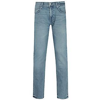 Wahre Religion Geno schlanke Fit Licht blau Denim Jeans