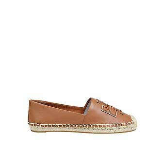 Tory Burch 52035209 Women's Brown Leather Espadrilles