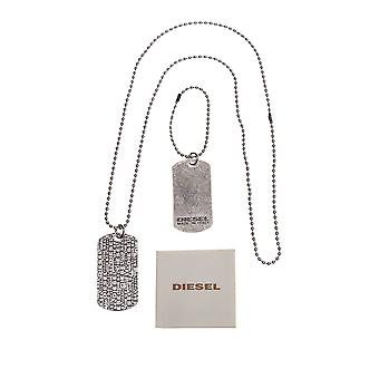 Diesel Necklace Necklace Collier NEW