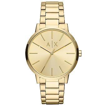 Armani Exchange Watch AX2707 - Dor Steel Bracelet Dor Steel Men's
