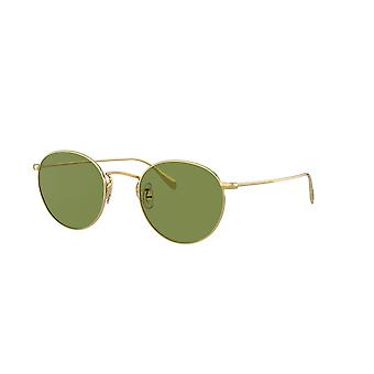 Oliver Peoples Coleridge Sun OV1186S 514552 Gold/Green Crystal Sunglasses