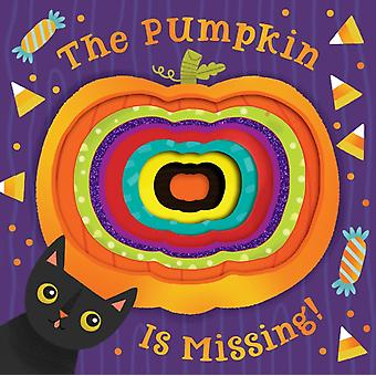 Pumpkin Is Missing Board Book with DieCut Reveals by Harcourt & Houghton Mifflin
