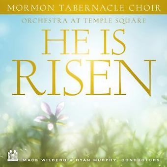 Mormon Tabernacle Choir - He Is Risen [CD] USA import