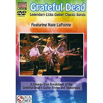 Grateful Dead - Legendary Licks-Classic Songs [DVD] USA import