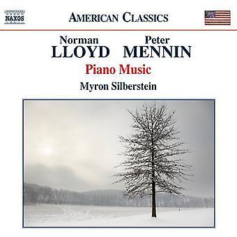 Lloyd / Mennin - Piano Works [CD] USA import