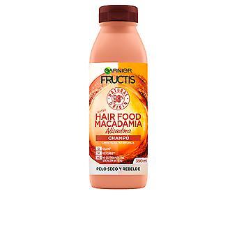 Garnier Fructis Hair Food Macadamia Champú Alisador 350 ml voor dames