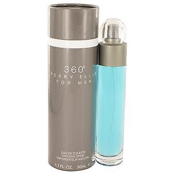 Perry ellis 360 jäseneltä Perry Ellis Eau De Toilette Spray 1.7 oz/50 ml (miehet)