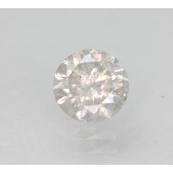 Certified 0.60 Carat G SI3 Round Brilliant Enhanced Natural Loose Diamond 5.28mm