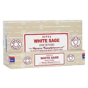 Something Different Satya White Sage Incense Sticks (Box Of 12 Packs)
