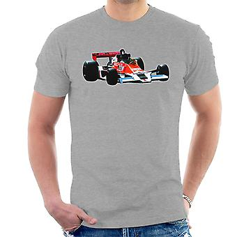 Motorsport Bilder James Hunt McLaren M26 1977 Herren's T-Shirt