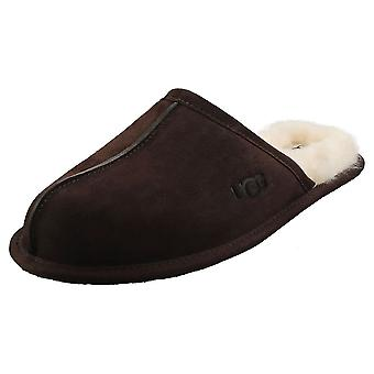 UGG Scuff Mens Slippers Shoes in Espresso