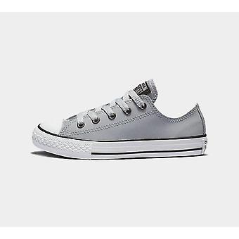 Converse Ctas Ox 662328C Wolf Grey Mädchen Schuhe Stiefel