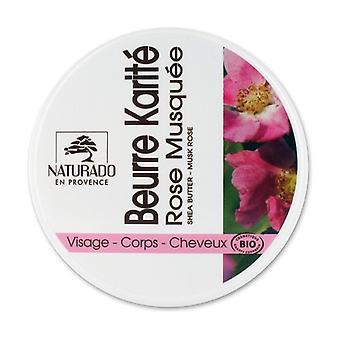 Bio 150 ml de beurre de karité rose