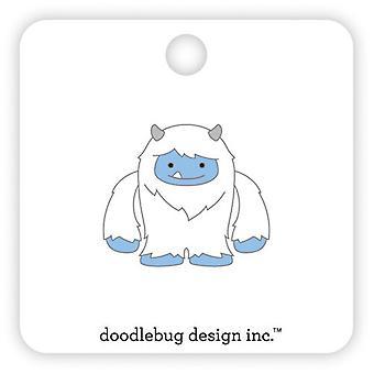 Doodlebug Design Yeti Collectible Pin