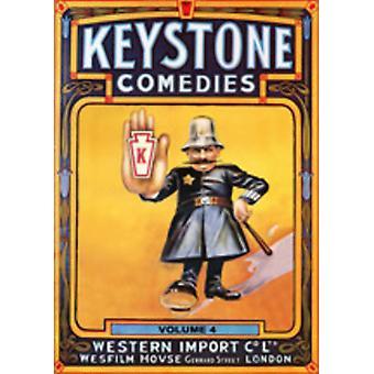 Keystone Comedies 4 [DVD] USA import
