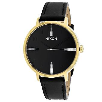 150, Nixon Women 's A1091-2879 Quartz Black Watch