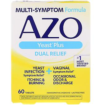 Azo, Yeast Plus, 60 Tablets