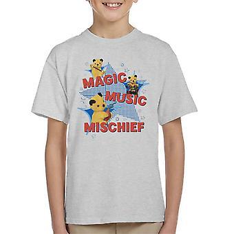 Sooty Magic Music Mischief Kid's T-paita
