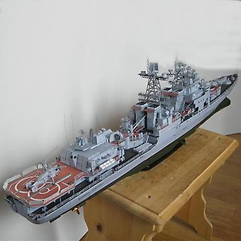 1:200 Admiral Antisubmarine Ship - 3d Paper Card, Construction Military Model