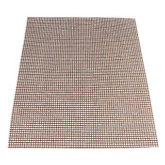 Brown Barbecu Grill Grid Mats
