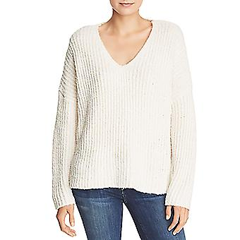 Sadie & Sage   Ribbed Knit Oversized V-Neck Sweater