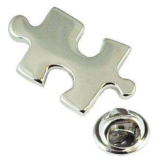 Ties Planet Jigsaw Puzzle Lapel Pin Insignia