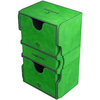 Gamegenic Stronghold 200-Card kabrió Deck Box Zöld