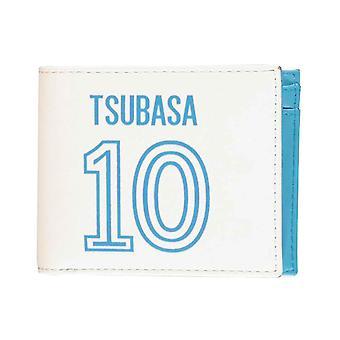 Captain Tsubasa Wallet 10 Logo new Official White Bifold