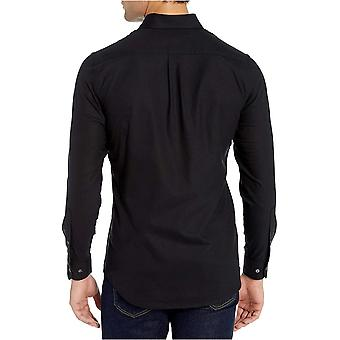 Brand - Goodthreads Men's Slim-Fit Long-Sleeve Wrinkle Resistant Comfort Stretch Oxford Shirt with Easy Care