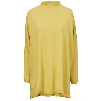 Masai Clothing Finola Yellow Knit Jumper