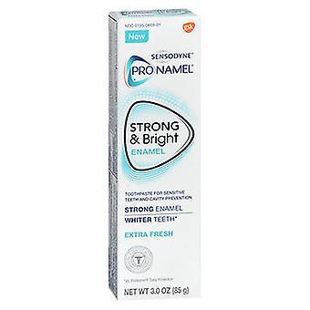 Sensodyne ProNamel Strong & Bright Émail Dentifrice Extra Fresh, 3 Oz