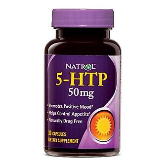 Natrol 5-HTP, 50 mg, 30 Caps