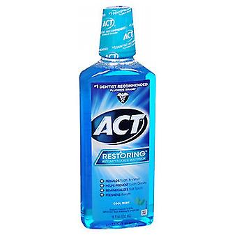 Act Restore Anticavity Fluoride Mondwater, Cool Splash Mint 18 oz