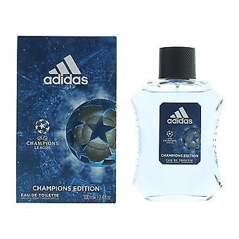 Adidas Champions League Champions Edition Eau de Toilette 100ml Spray For Him