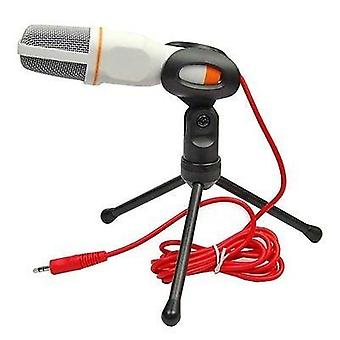 Professional Studio Microphone With Tripod  For Pc  Laptop  Skype Calling Chatting Over Qqmsn