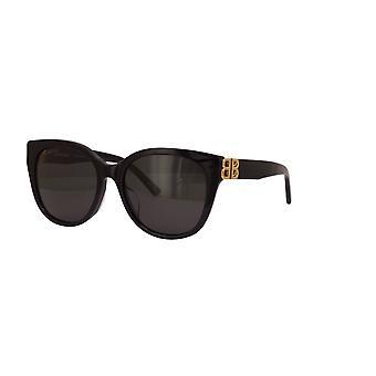 Balenciaga Asian Fit BB0103S 001 Gafas de Sol Negras/Grises