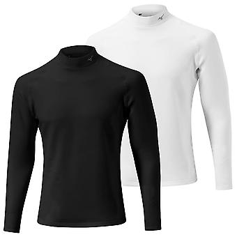 Mizuno Mens 2020 Breath Thermo Biogear Mock Compression Golf Baselayer