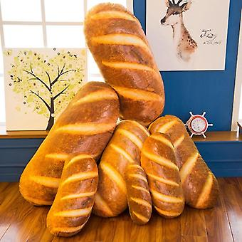 Cute Real Life Bread Design Plush Pillow Toy