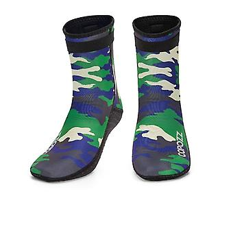 Copozz 3mm Neoprene Beach Swimming Diving Socks- Water Sport Anti Slip Shoes,
