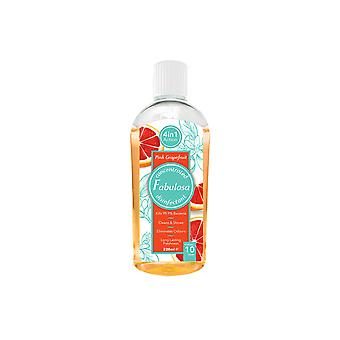 Fabulosa Disinfectant Pink Grapefruit 220ml 11195