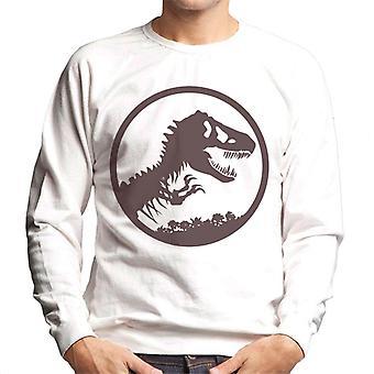 Jurassic Park T Rex Skeleton Icon Miesten ja apos;s collegepaita