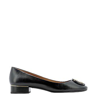 Tory Burch 79548006 Women's Black Leather Flats