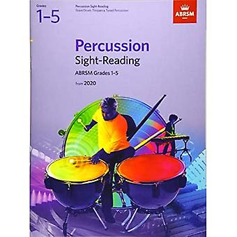 Percussion Sight-Reading, ABRSM Grades 1-5: from 2020 (ABRSM Sight-reading)