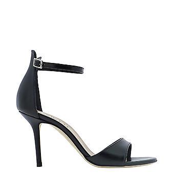 Guglielmo Rotta 4547vvitellonero Women's Black Leather Sandals