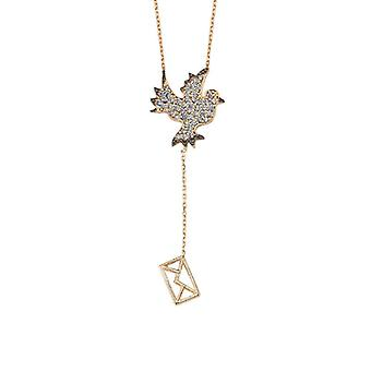Collier Homing Pigeon Gold