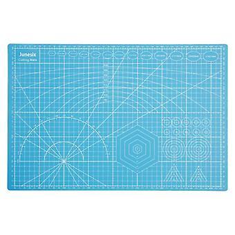 A3/a4/a5 Cutting Mats Pvc Rectangle Grid Lines - Self Healing Cutting Board